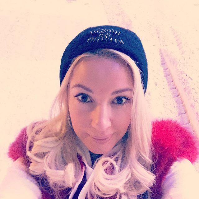 Лера Кудрявцева привезла в Москву снег и морозы.