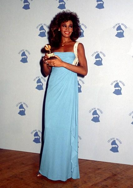 Певица Уитни Хьюстон (1963-2012) 1996 год.