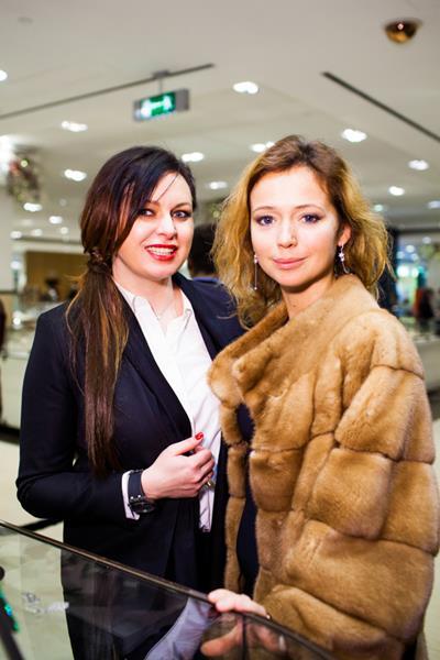 Светлана Амова и Елена Захарова