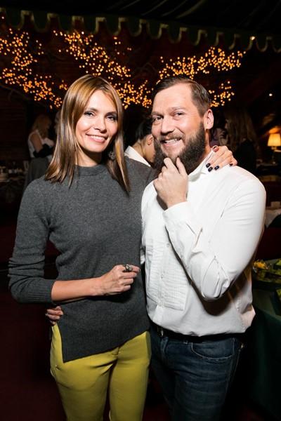 Анна Брострем и Петр Аксенов
