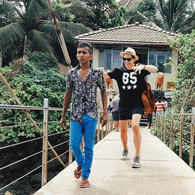 Влад Лисовец отдыхал на Шри-Ланке.