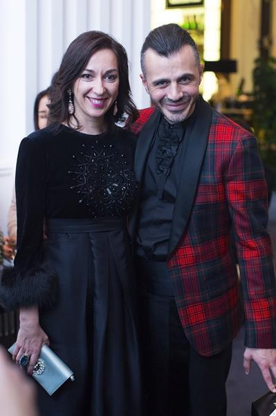 Мария Лобанова и Александр Сирадекиан