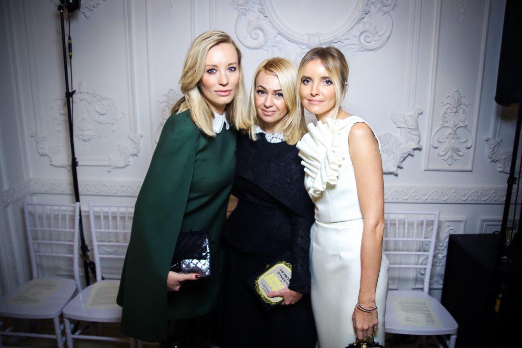 Наталья Давыдова, Яна Рудковская и Наталья Якимчик