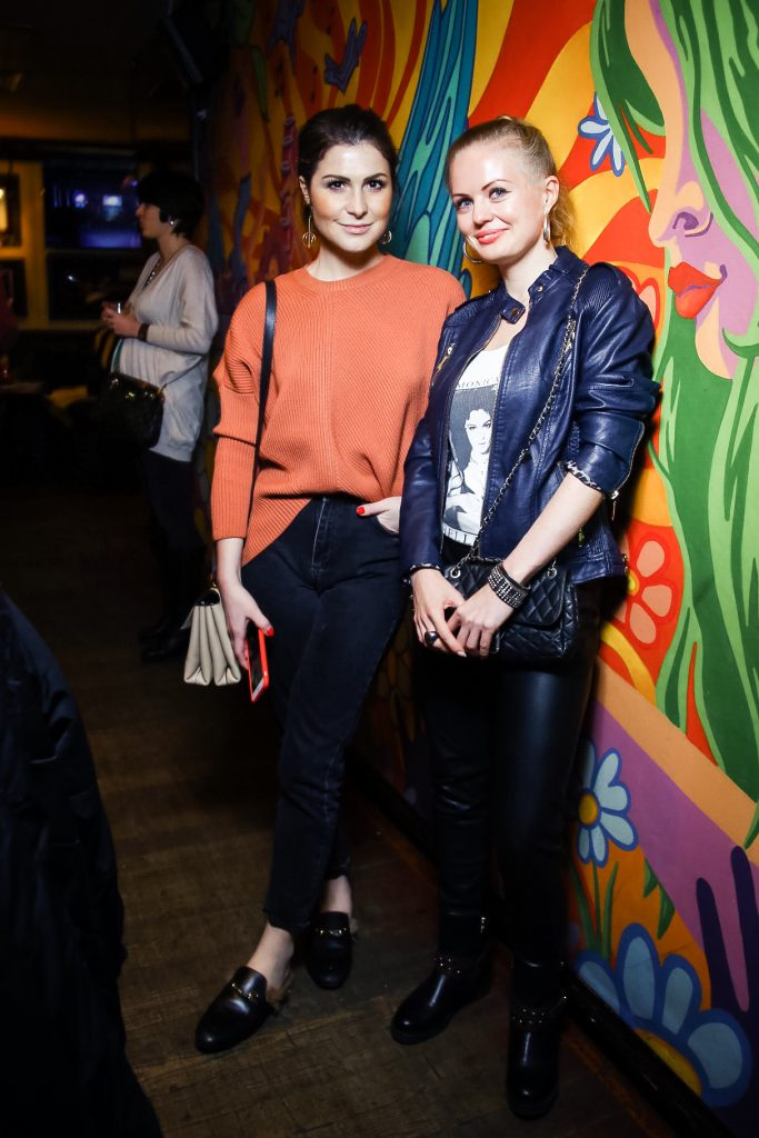 Лаура  Джугелия и Олеся Бускенс