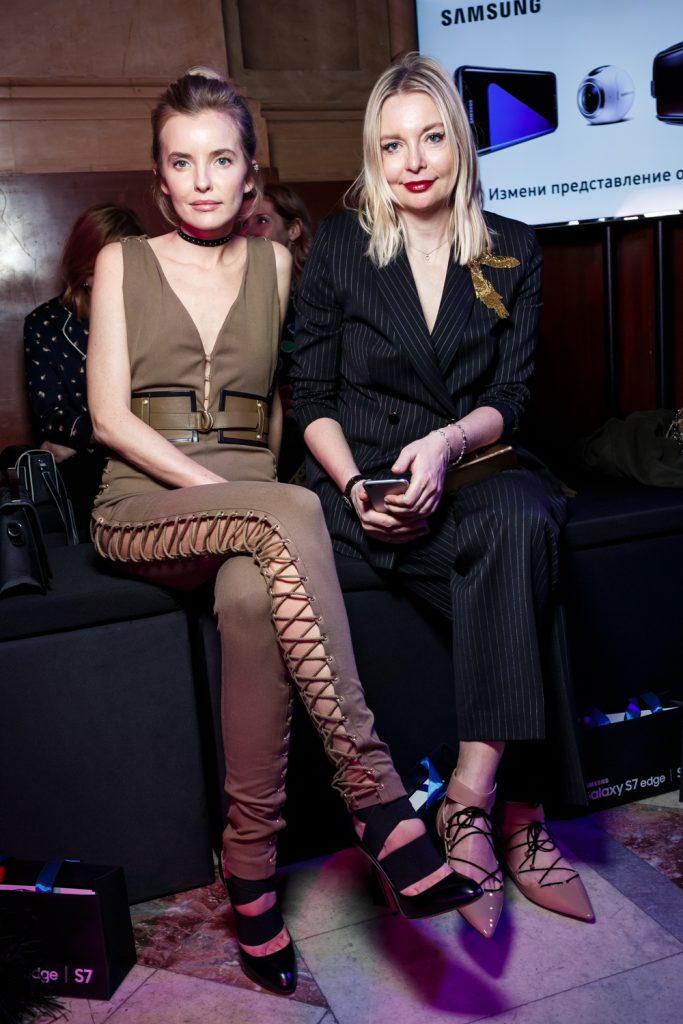 Наталья Якимчик и Виктория Давыдова