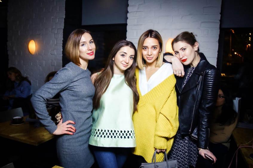 Елена Бекиш, Наталья Осипова, Лайма Хвития и Алина Григалашвили