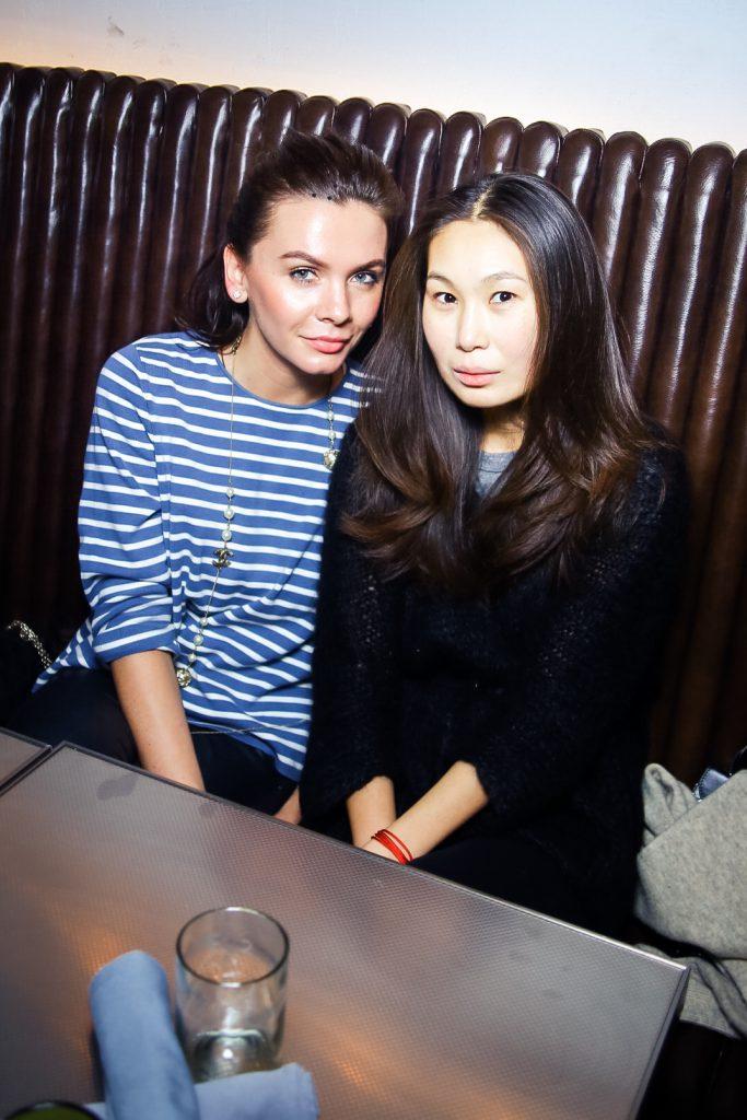 Наталья Павликова и Джига Санжиева