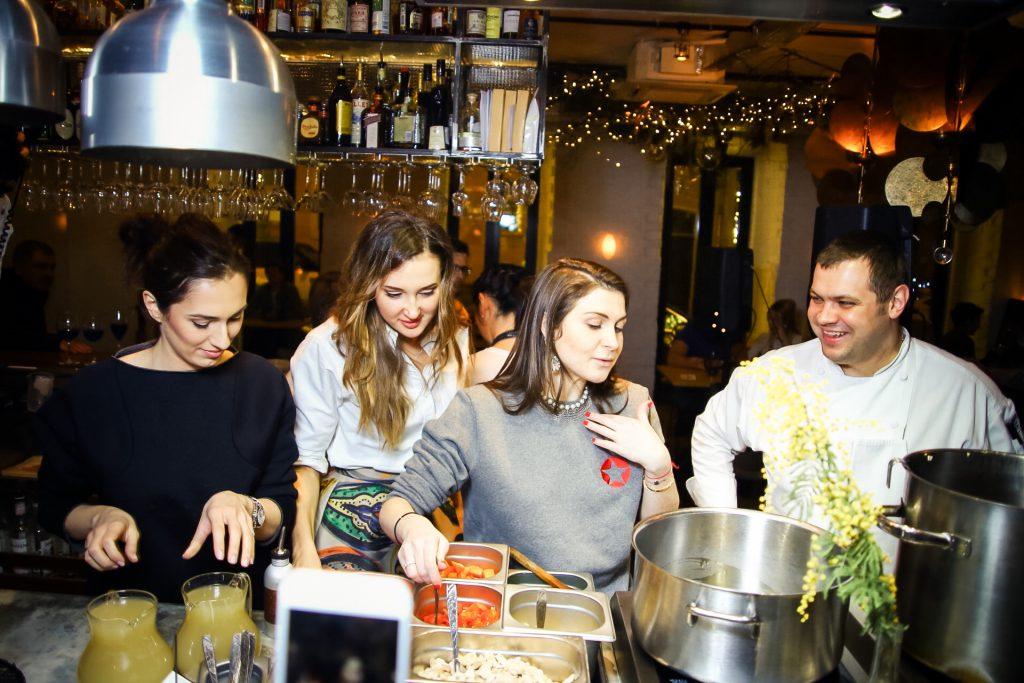 Ирэна Кварацхелия, Мария Байбакова и Лаура Джугелия