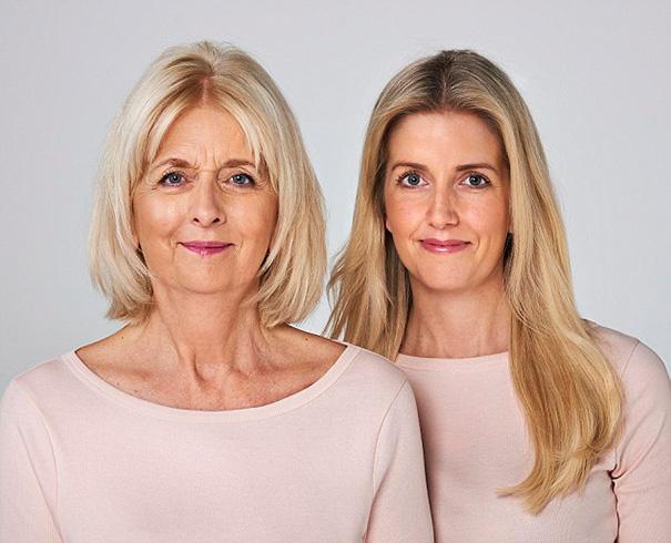Сара (62) и ее дочь Клементина (30)