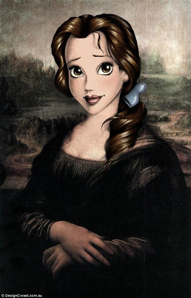 Леонардо да Винчи, «Мона Лиза» - Белль
