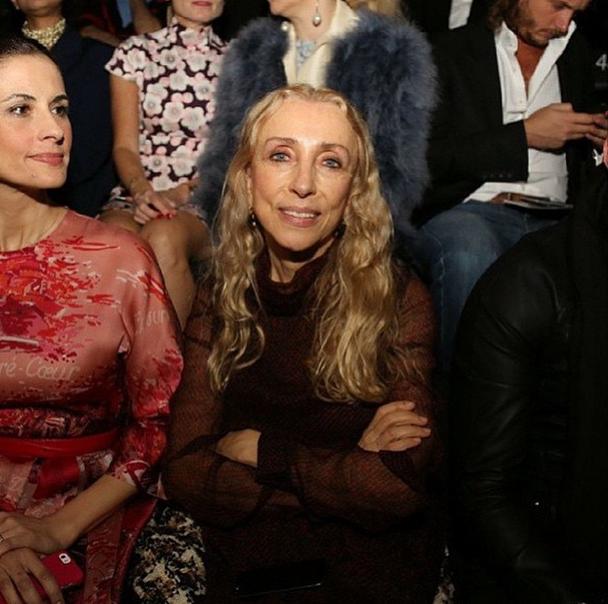 Главный редактор итальянского Vogue Франка Соццани (64)