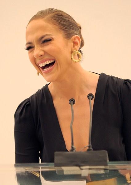 Певица, актриса Дженнифер Лопес, 45