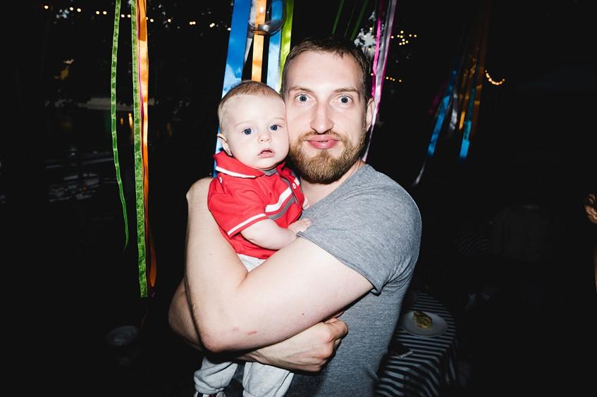 Алекс Орлов с сыном Федором