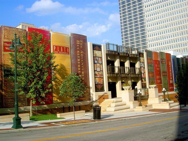 Центральная библиотека Канзас-сити, Штат Миссури, США.