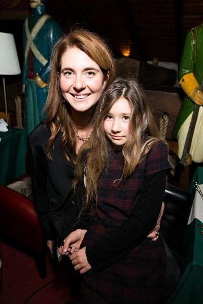 Дарья Лисиченко с дочерью Леной