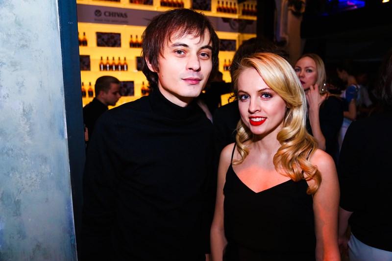 Александр Терехов и Янина Студилина