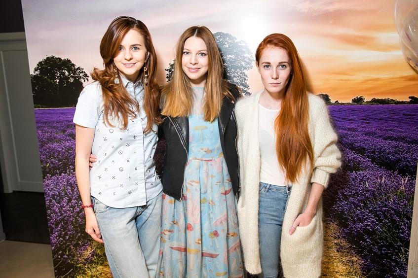 Юлия Прудько, Наталья Пдольская и Саша Федорова