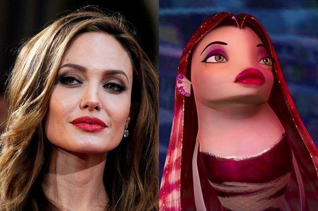 Анджелина Джоли (39) - Лола (