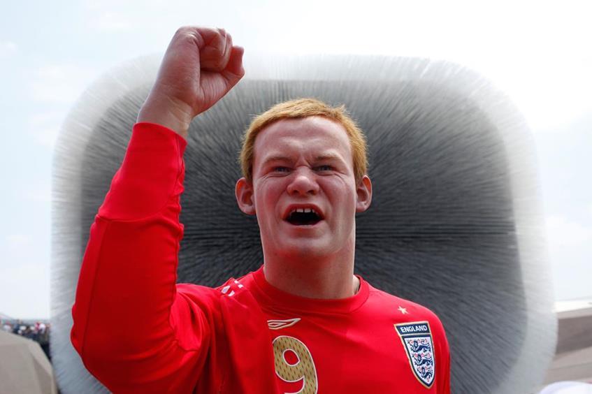 Уэйн Руни (29), нападающий английского футбольного клуба Manchester United