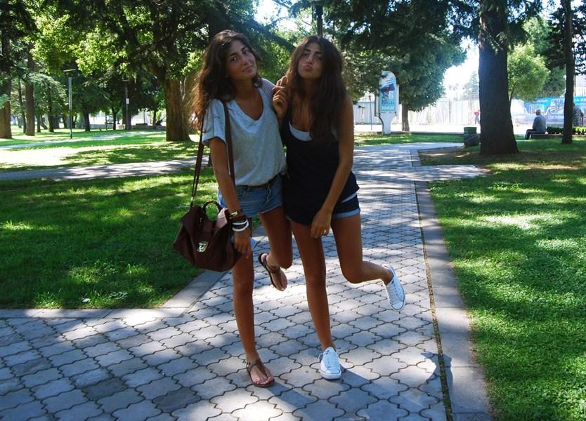 Мари и Сали Садунишвили [22] – грузинки.