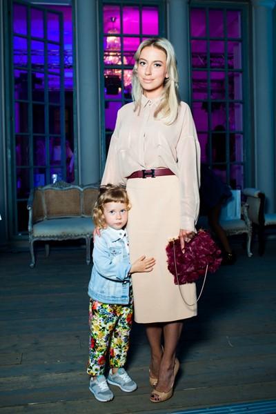 Анна Дубовицкая с дочерью