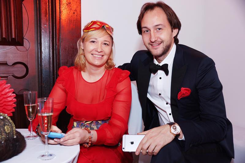 Элла Стюарт и Юрий Истомин
