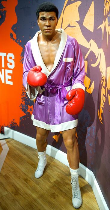 Мохаммед Али (72), американский боксер