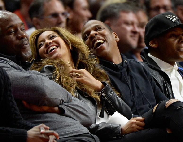 Певица Бейонсе (33) и Jay-Z рэпер (45)