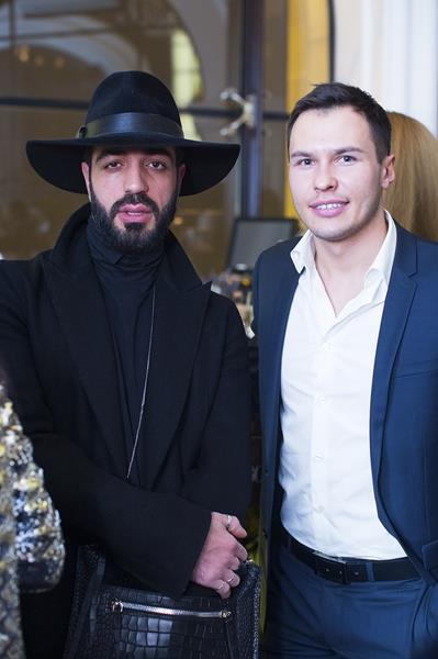 Давид Геворков и Евгений Цюра