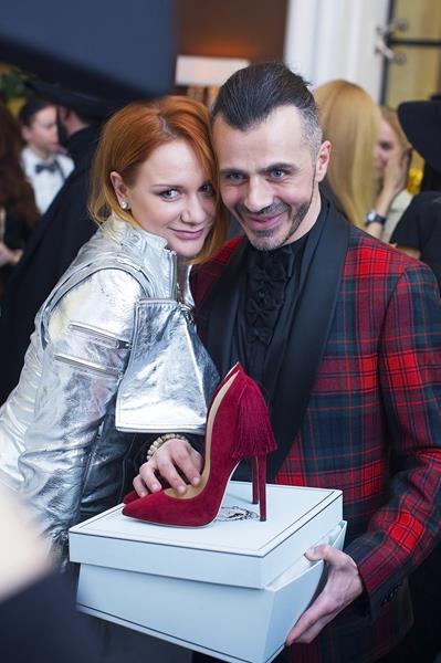 Евгения Благова и Александр Сирадекиан