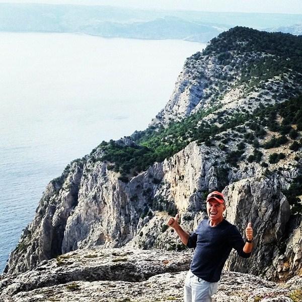 Олег Газманов восхищался красотой Крыма.