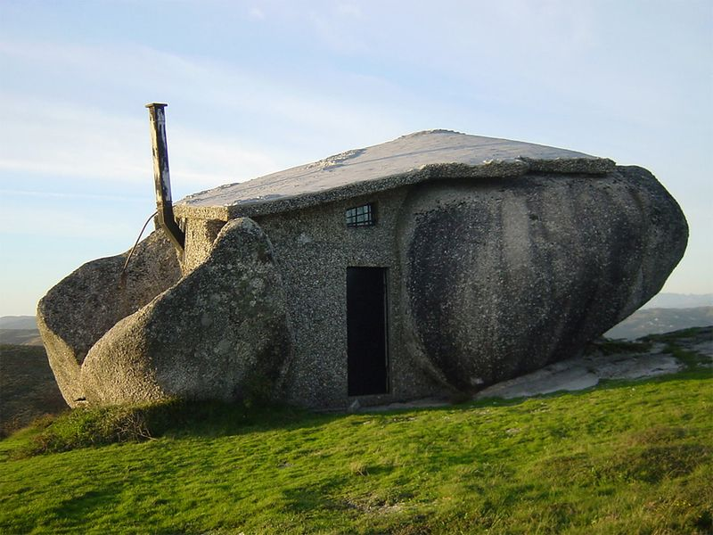 Каменный дом, Фафе, Португалия.