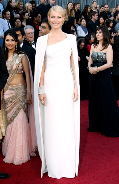 Актриса Гвинет Пэлтроу (42) в платье Tom Ford, 2012 год.