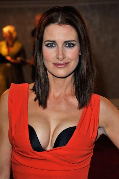 Шотландская телеведущая Кирсти Галлахер, 39