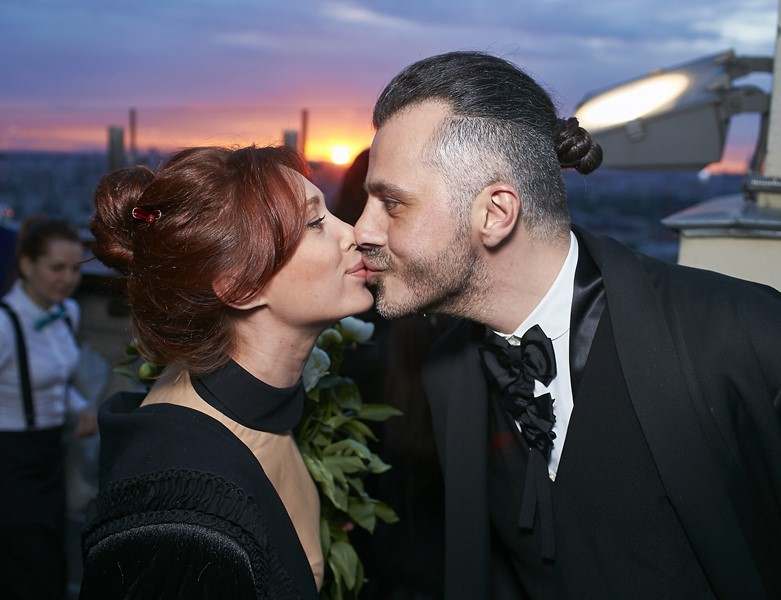 Лиза Шарикова и Александр Сирадекиан