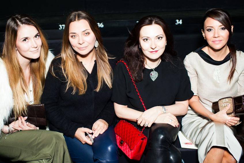 Алина Топалова, Наталья Лучанинова, Елена Ваевская и Ирина Чайковская
