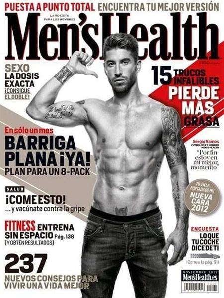 Защитник футбольного клуба Real Madrid и сборной Испании Серхио Рамос, 29