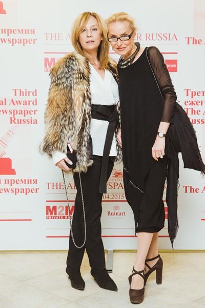 Алена Долецкая и Ольга Свиблова