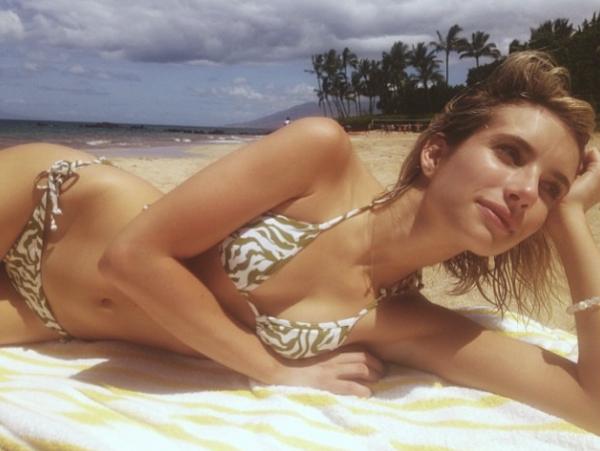 Эмма Робертс (23), актриса и модель