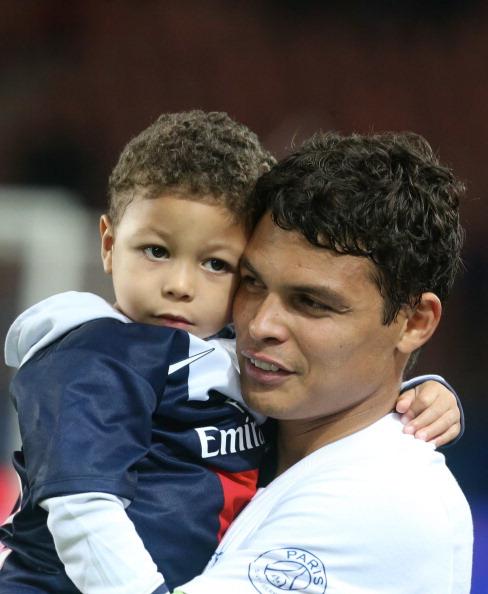 Защитник футбольного клуба Paris Saint-Germain и сборной Бразилии Тиаго Силва (30), Лиан
