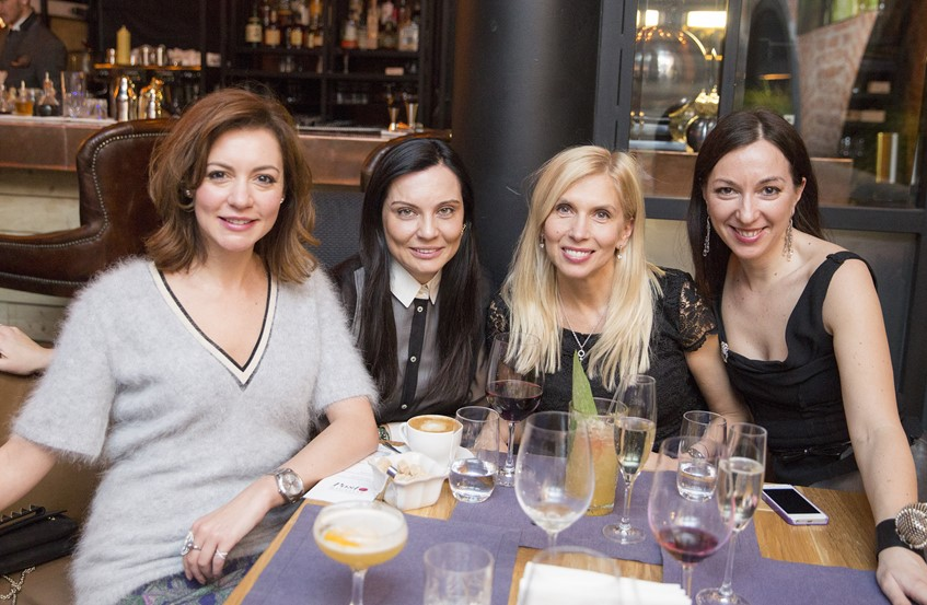 Татьяна Геворкян, Лидия Александрова, Алена Свиридова и Мария Лобанова