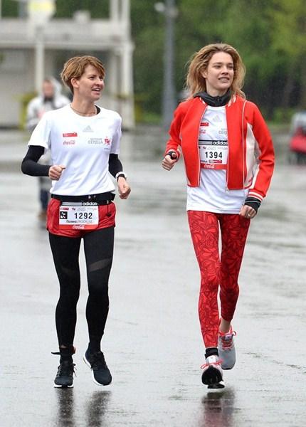 Полина Киценко и Наталья Водянова