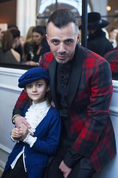 Александр Сирадекиан с дочерью Эмануэль