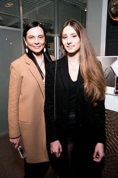 Лидия Александрова с дочерью