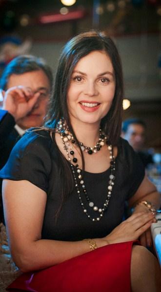 Российская телеведущая Екатерина Андреева, 53