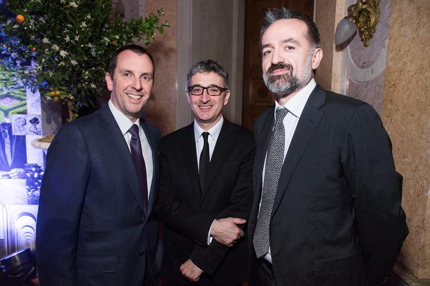 Николо Фонтана, Лоренцо Перини и Лино Лозано