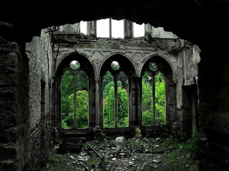 Зал Хафодунос в Ллангерниве, Северный Уэльс.
