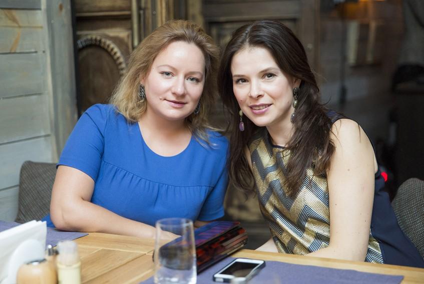 Татьяна Сабуренкова и Мария Верник
