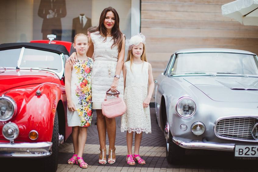Ирина Чайковская с дочками