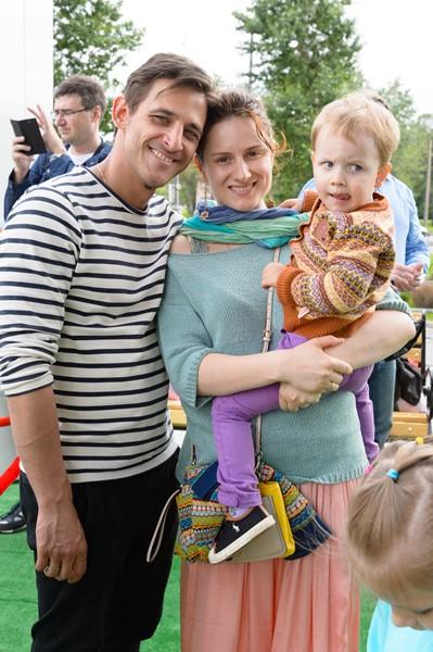 Михаил Башкатов с семьей